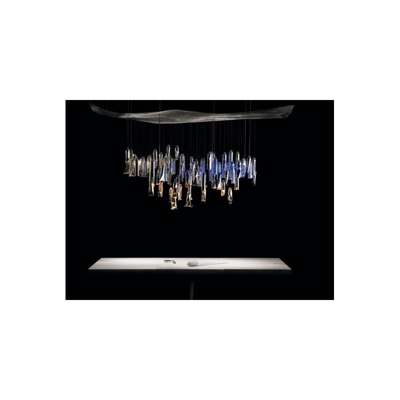 ingo maurer tu be l ster luminaire suspendu tubes. Black Bedroom Furniture Sets. Home Design Ideas