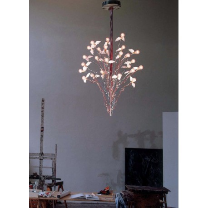 ingo maurer birds birds birds luminaire plumes suspension oiseaux. Black Bedroom Furniture Sets. Home Design Ideas