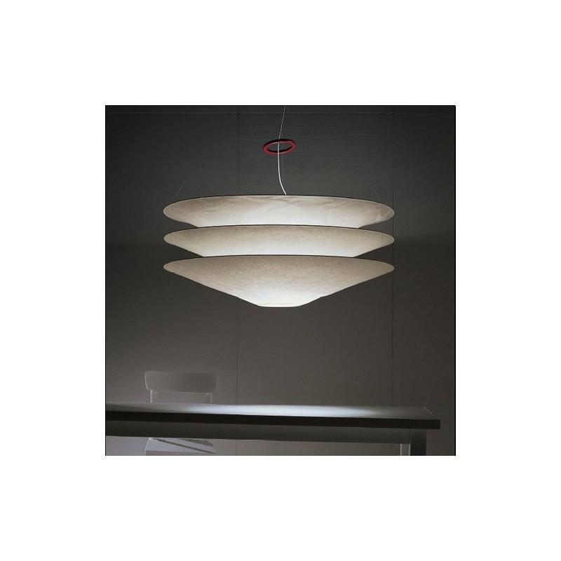 ingo maurer floatation luminaire suspension en papier japon. Black Bedroom Furniture Sets. Home Design Ideas