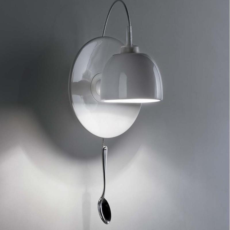 ingo maurer light au lait applique tasse caf eclairage mural. Black Bedroom Furniture Sets. Home Design Ideas