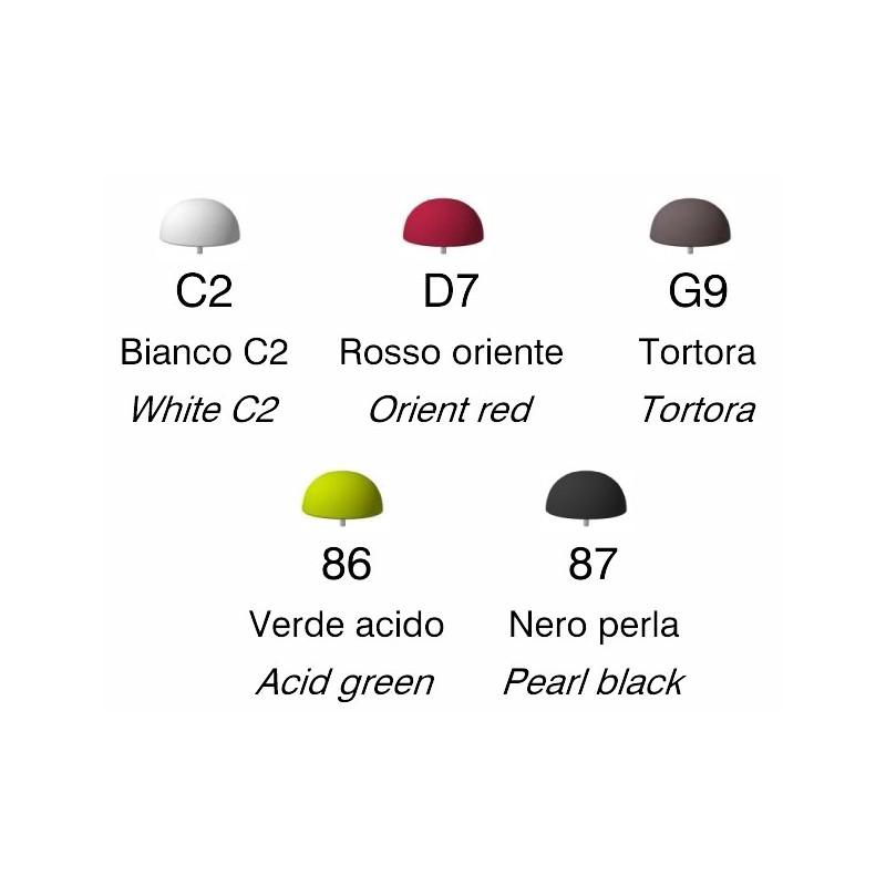 Embouts colorés Plust Godot