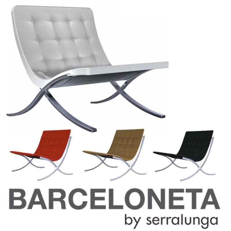 serralunga barceloneta barcelona chair outdoor fauteuil. Black Bedroom Furniture Sets. Home Design Ideas