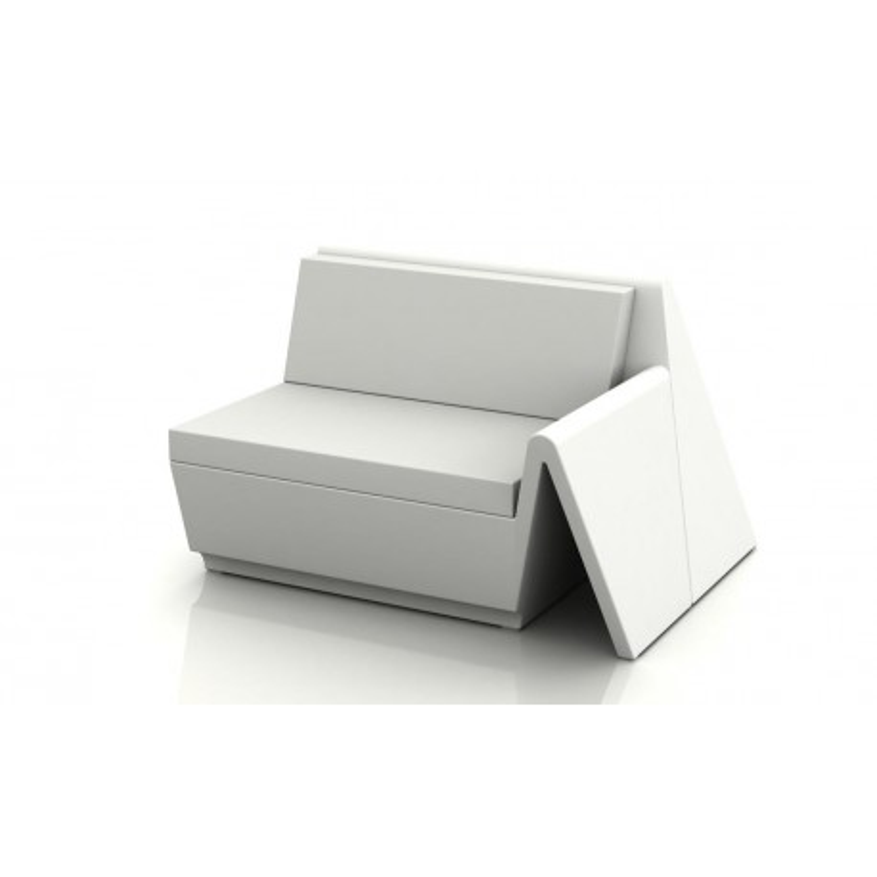 Vondom rest sofa modulo izquierdo light lounge armchair for Sofas por modulos