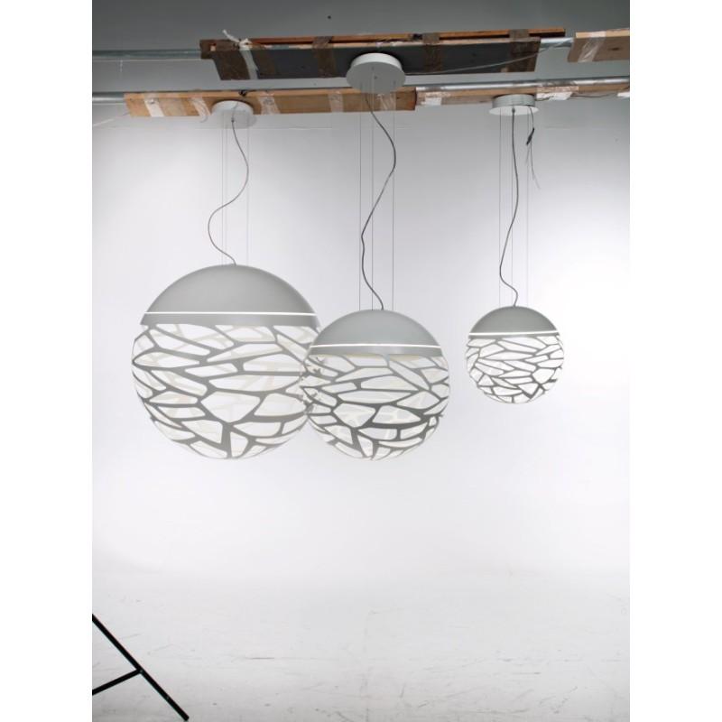 Studio italia design kelly sphere lampe suspendue ronde for Luminaire sphere exterieur