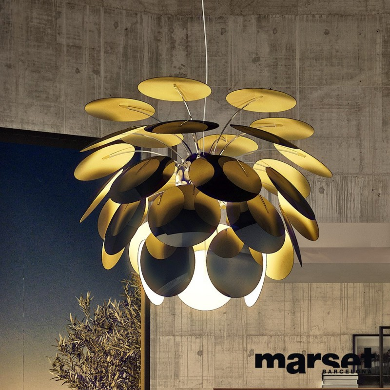 marset discoco suspension pendant lamp design big size xxl. Black Bedroom Furniture Sets. Home Design Ideas