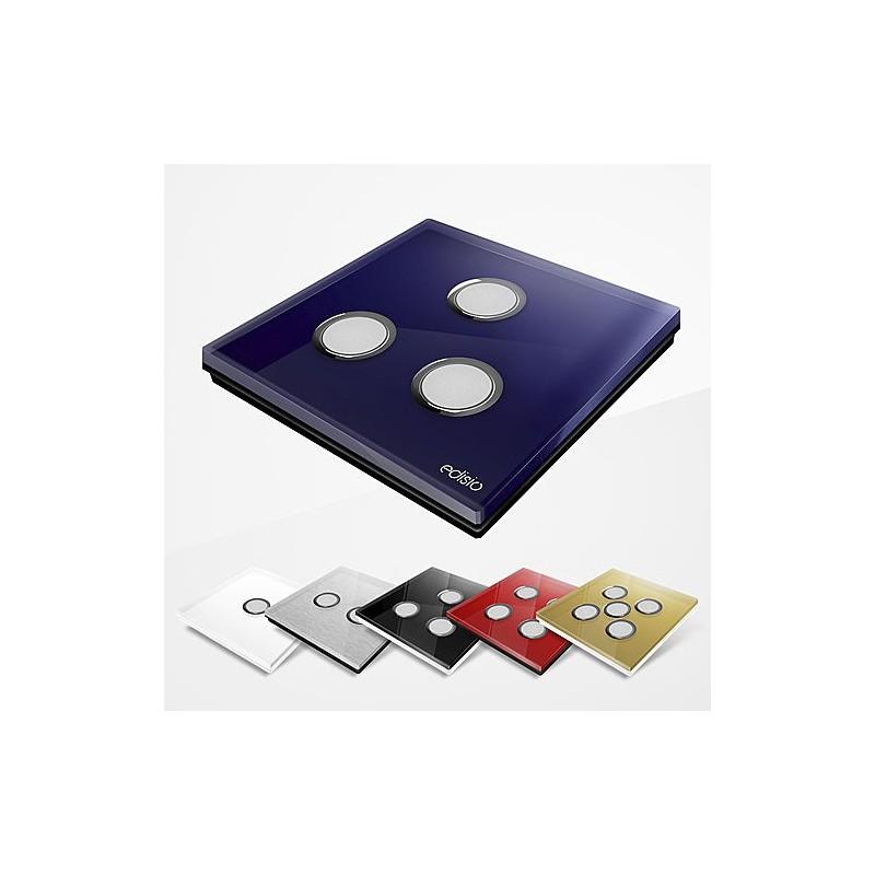 edisio smart home diamond interrupteurs sans fils bouton poussoir. Black Bedroom Furniture Sets. Home Design Ideas
