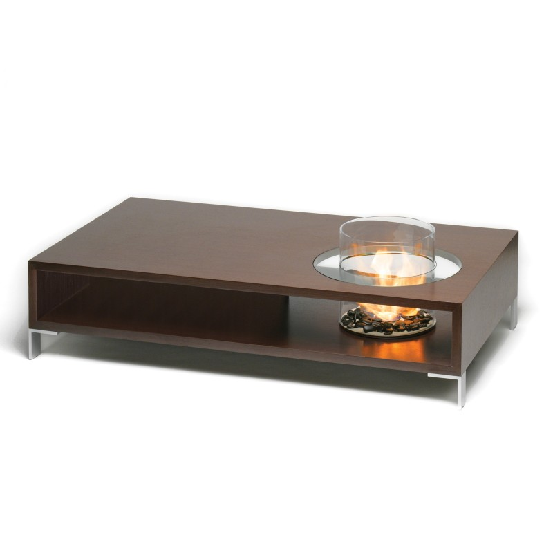 Planika Coffee Fire Long Table With Bio Fire