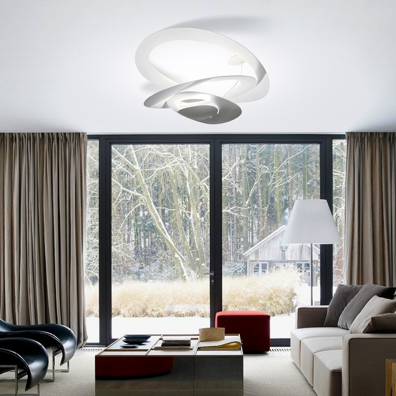 artemide pirce ceiling lamp design and lighting led. Black Bedroom Furniture Sets. Home Design Ideas