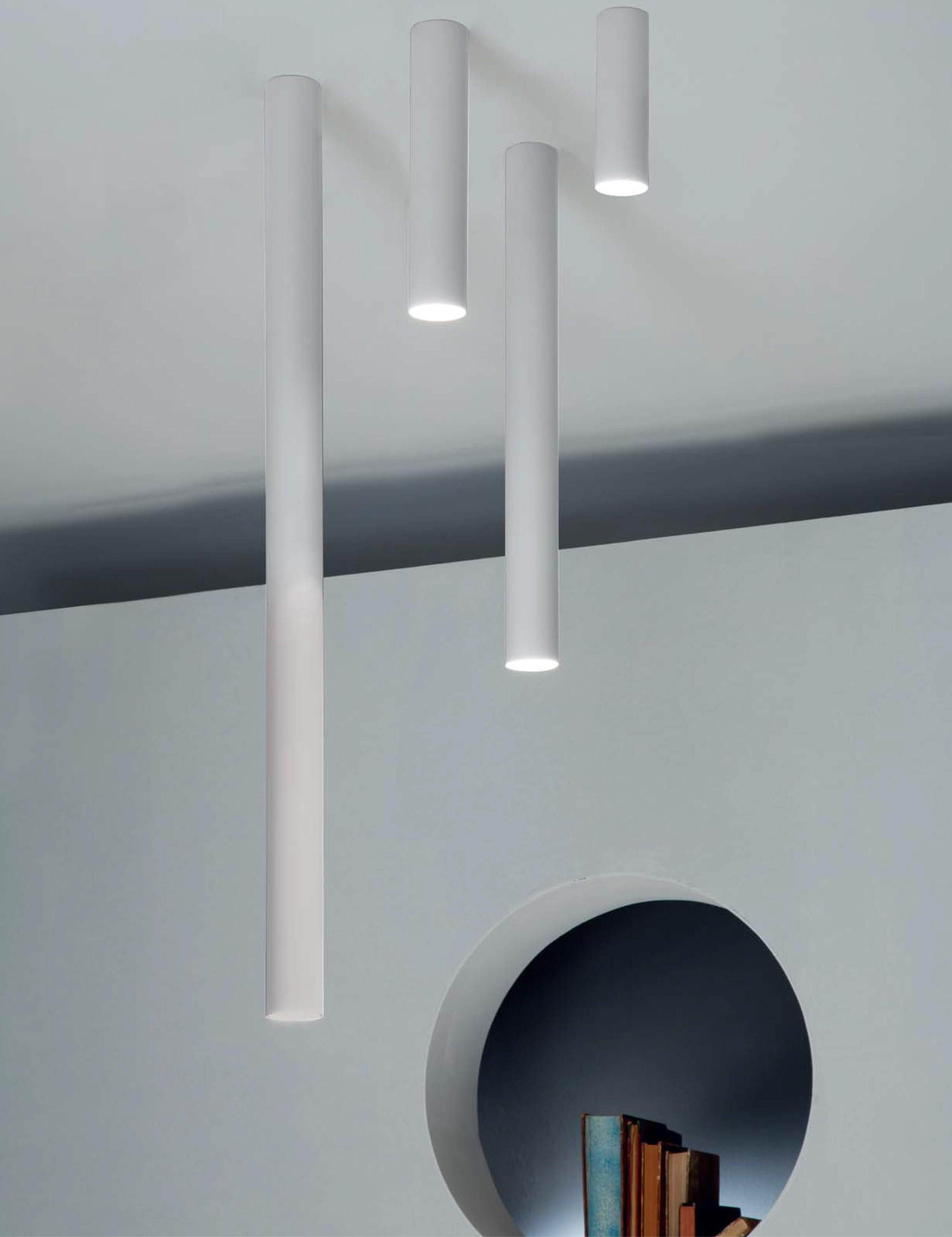 Studio Italia Design ATube Ceiling Lighting Design