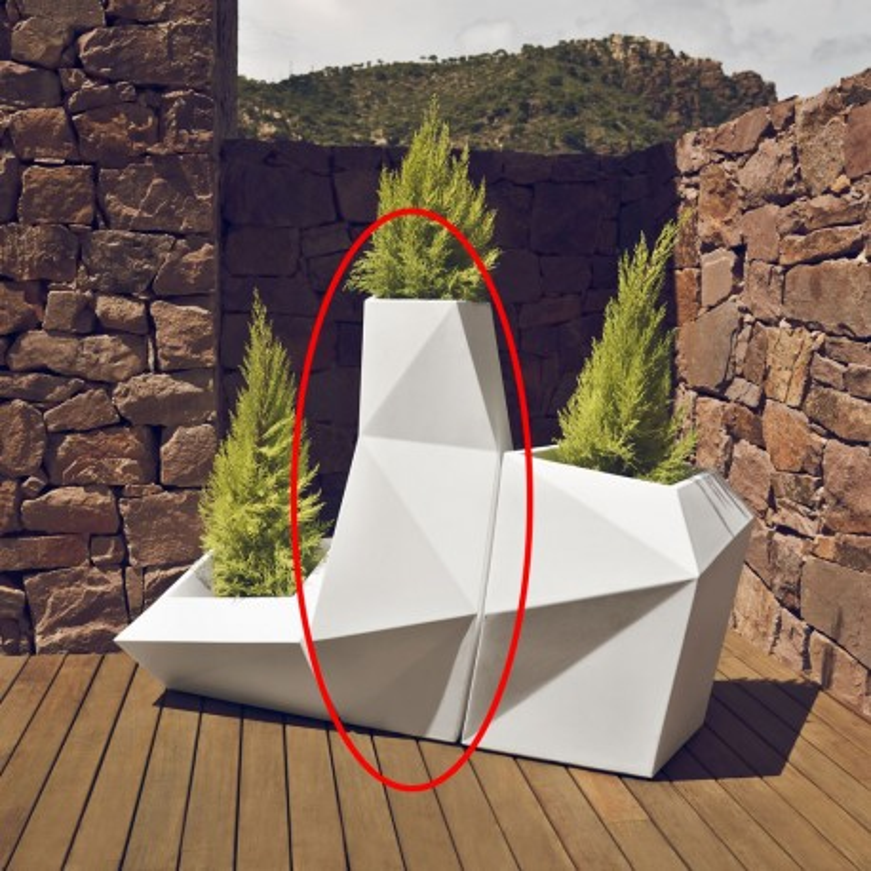 Faz Planter XL 159 cm Vondom