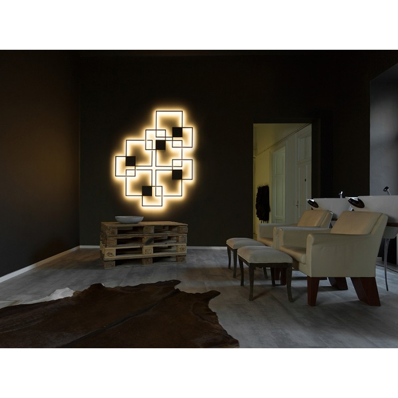 wever and ducr venn 1 0 et 2 0 applique eclairage led. Black Bedroom Furniture Sets. Home Design Ideas