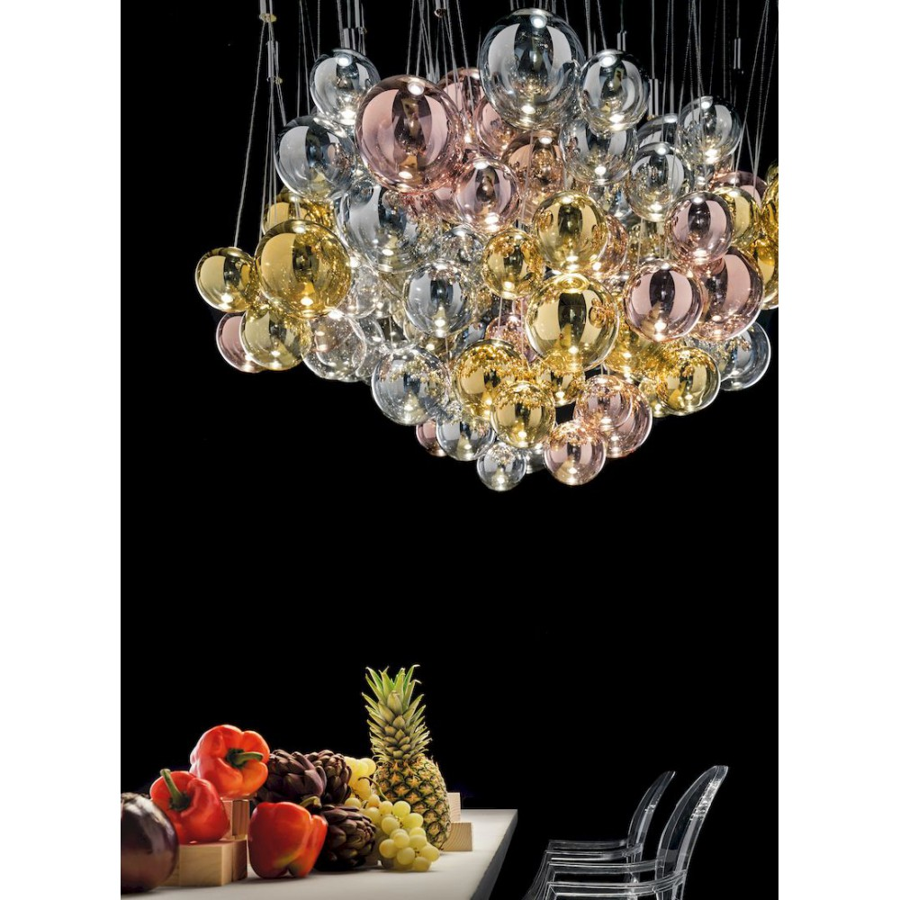 Studio Italia Design Random Suspension En Verre Luminaire