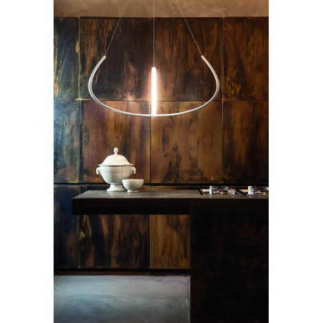 Nemo alya lampe led en suspension luminaire design epur - Nemo verlichting ...