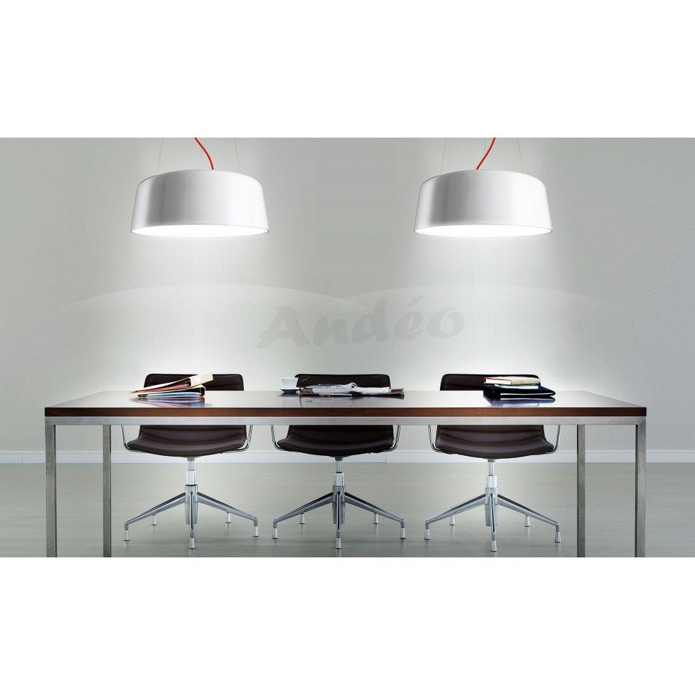 panzeri blanca suspension eclairage en led 60 cm et 89 cm. Black Bedroom Furniture Sets. Home Design Ideas