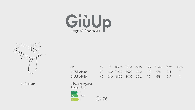 Icone Luce Giuup AP Tech
