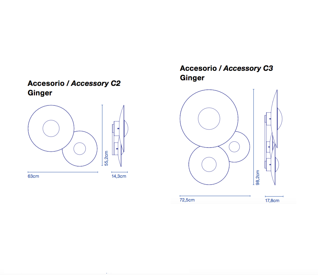 Marset Ginger C Accessory Kit