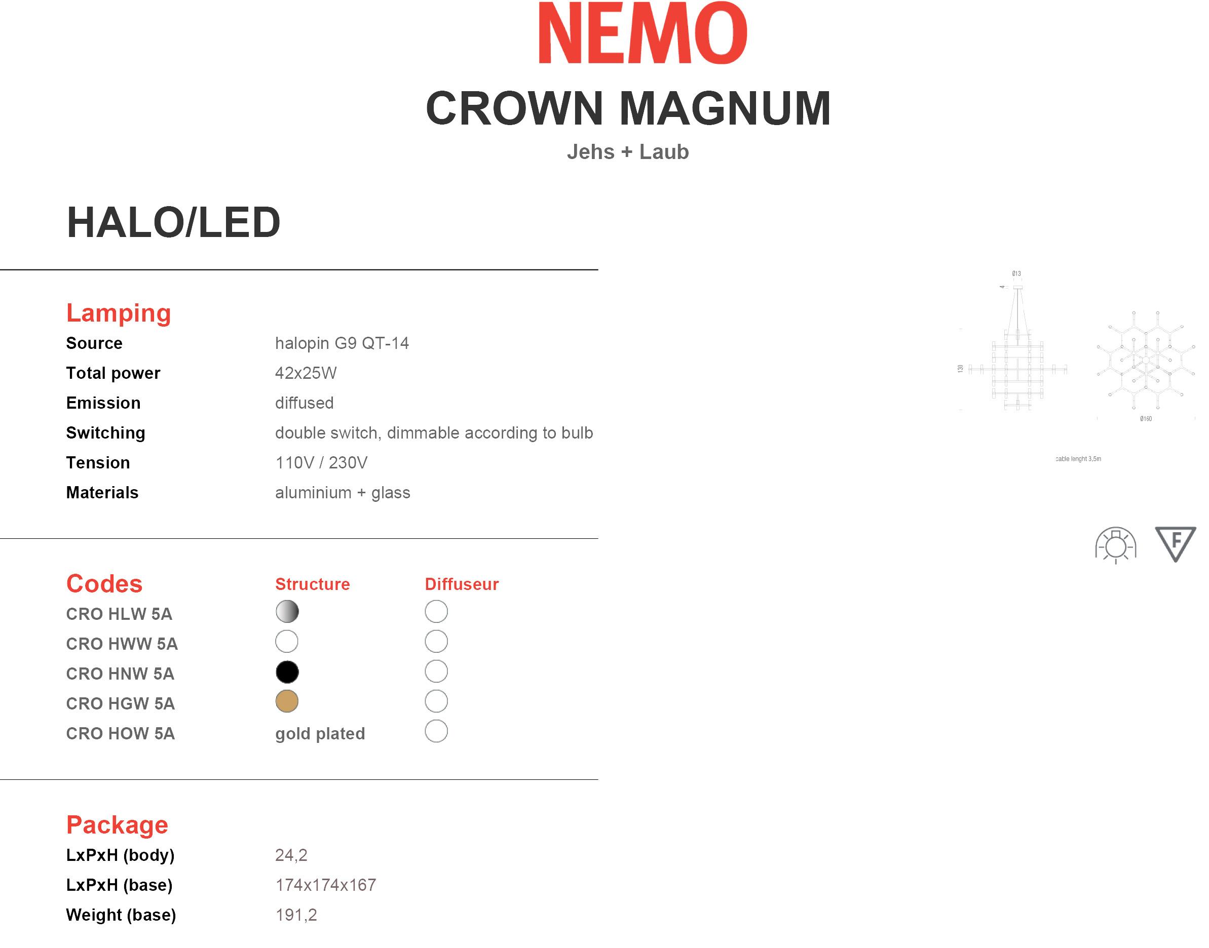 Nemo Crown Magnum Tech