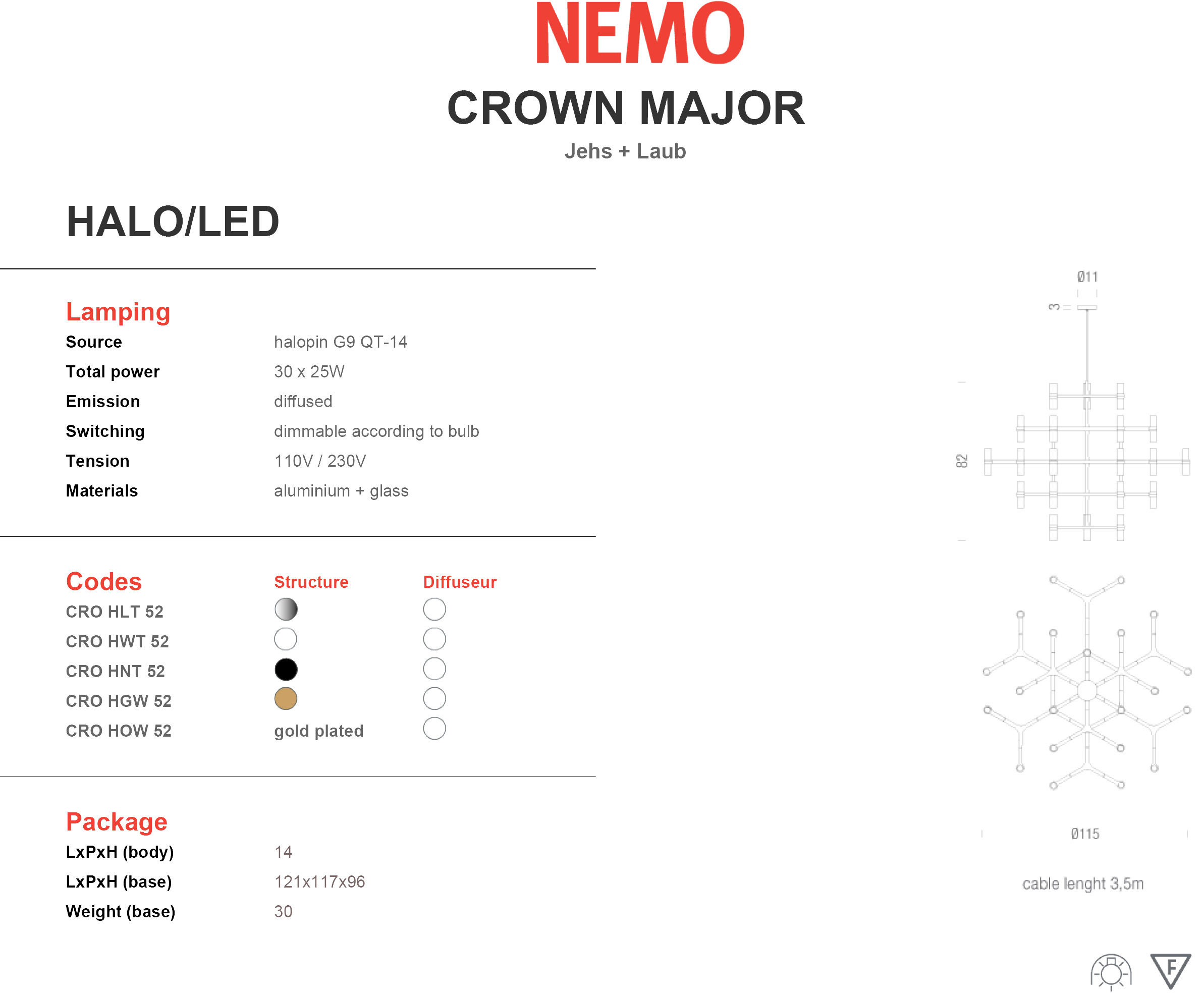 Nemo Crown Major Tech