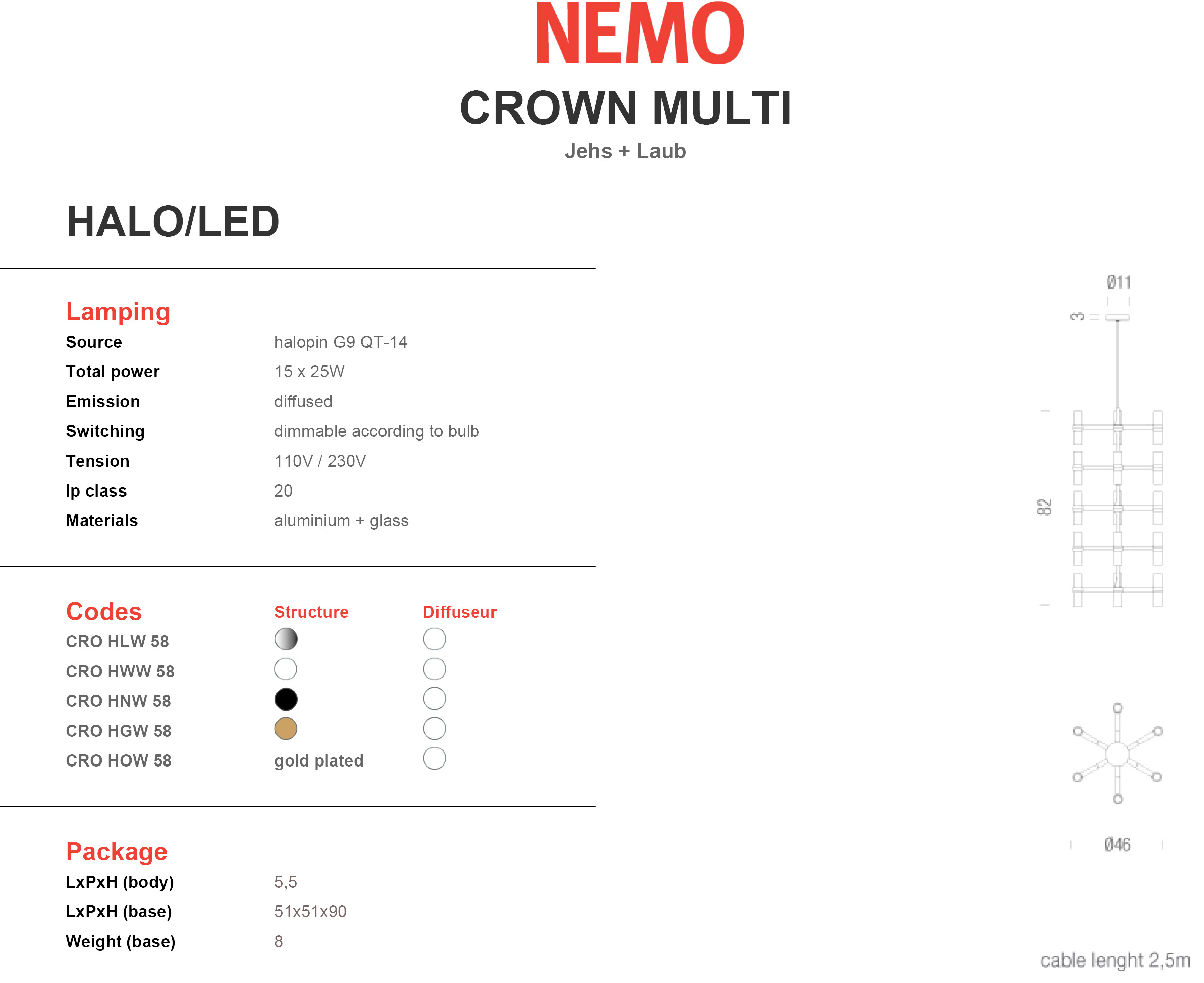 Nemo Crown Multi Tech