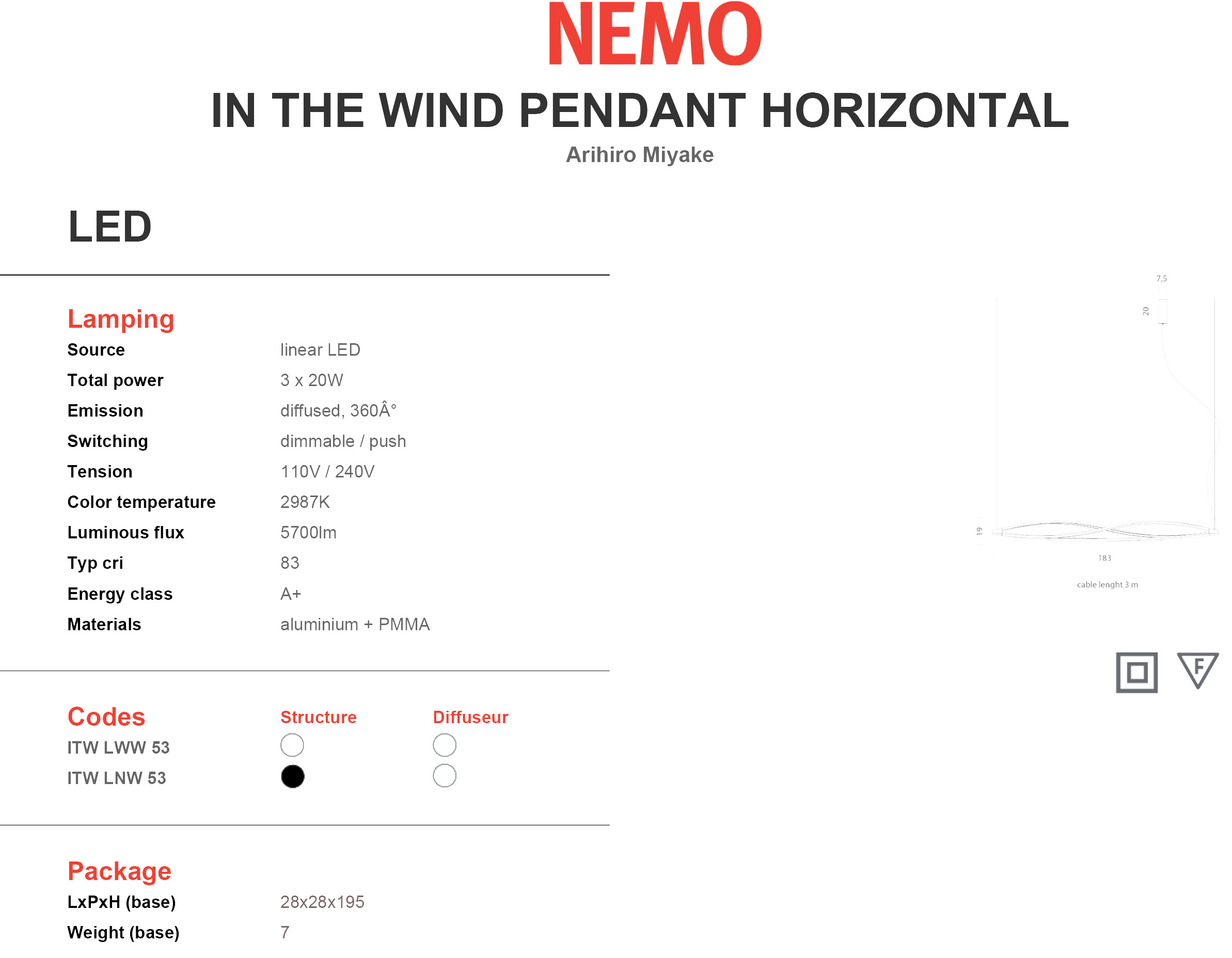 Nemo in The Wind Horizontal Tech