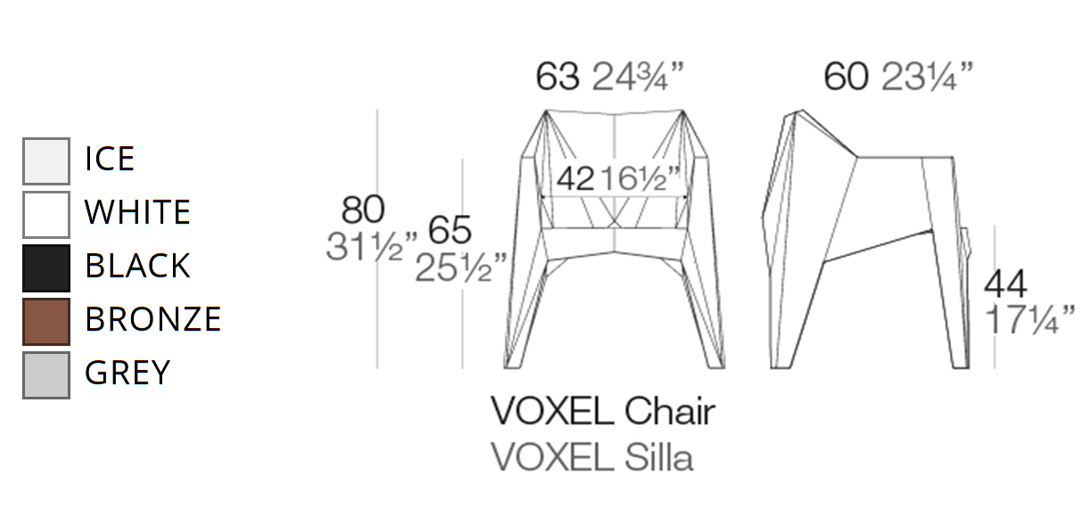 Vondom Voxel Chair